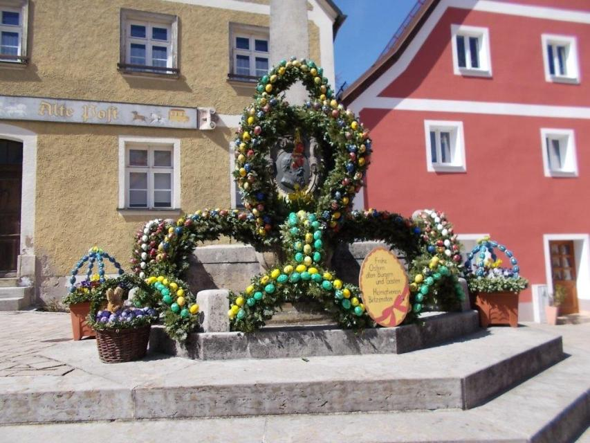 Osterbrunnen in Betzenstein