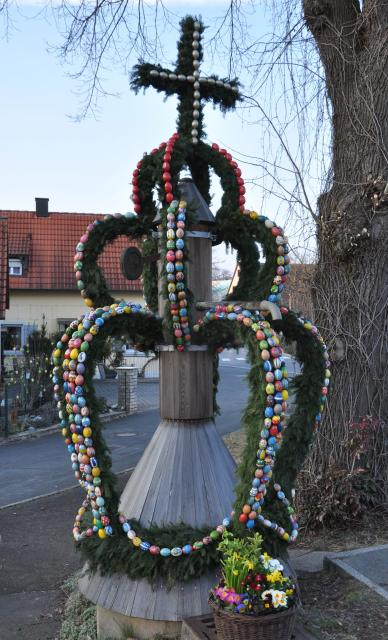 Osterbrunnen in Eggolsheim
