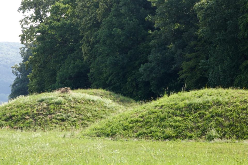 Keltische Hügelgräber