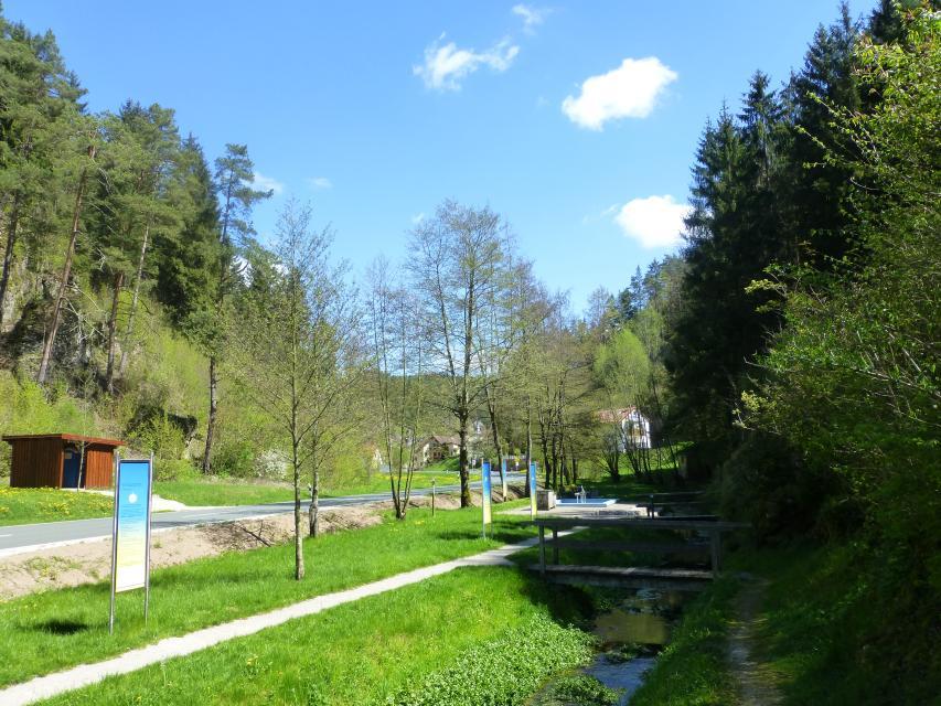 Kneippanlage in Obertrubach