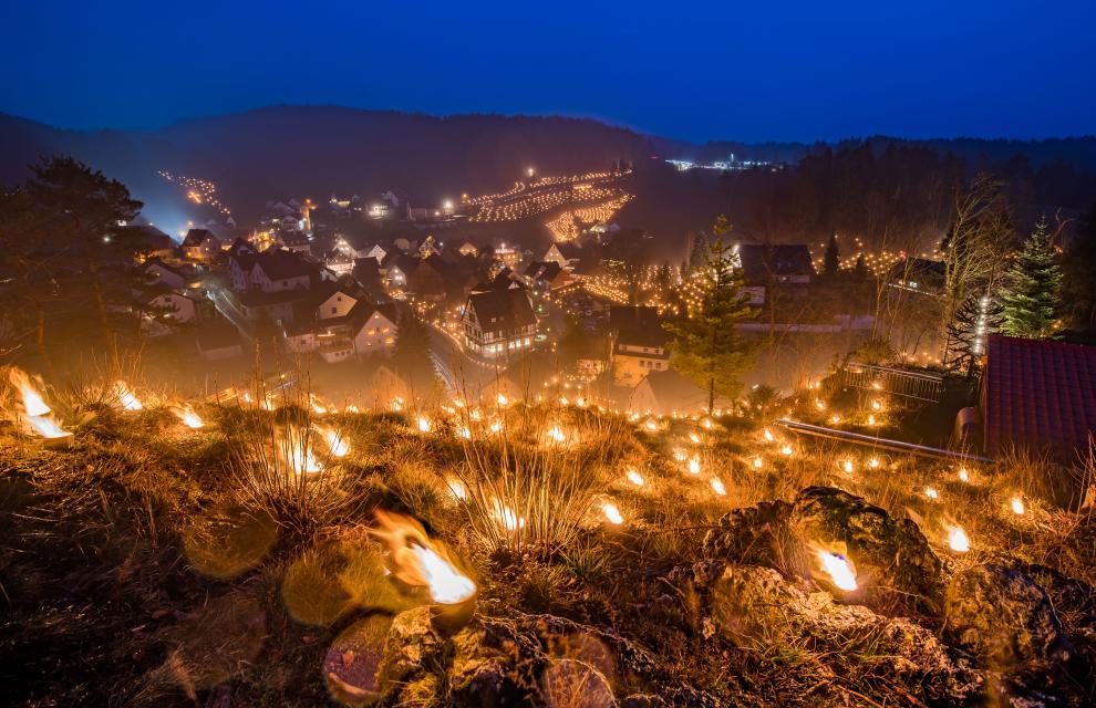 Beschluss der Ewigen Anbetung in Obertrubach
