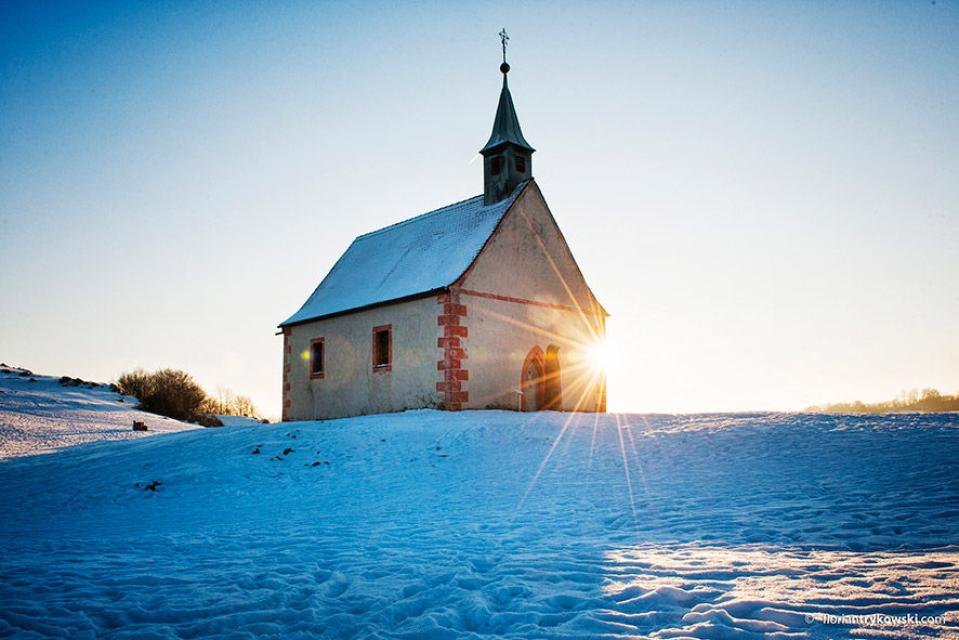 Walburgis-Kapelle auf dem Walberla