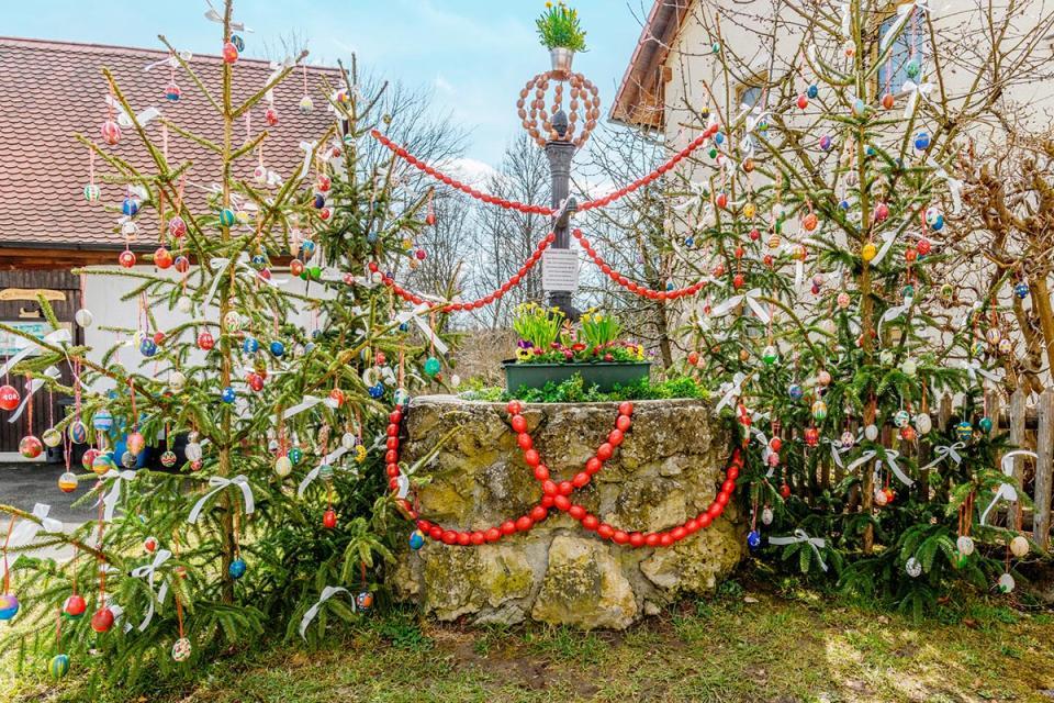 Osterbrunnen in Aufseß-Haag