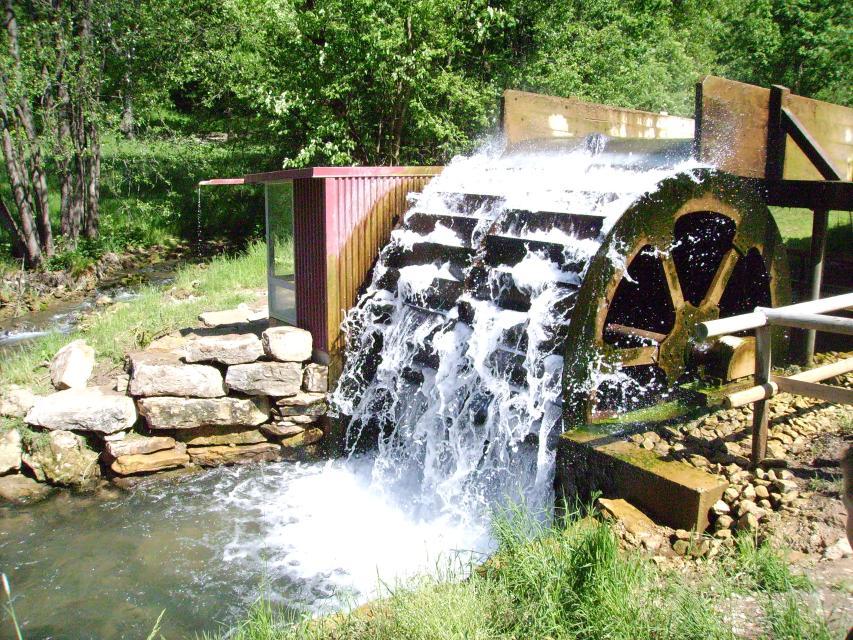 Das Wasserrad von Egloffstein