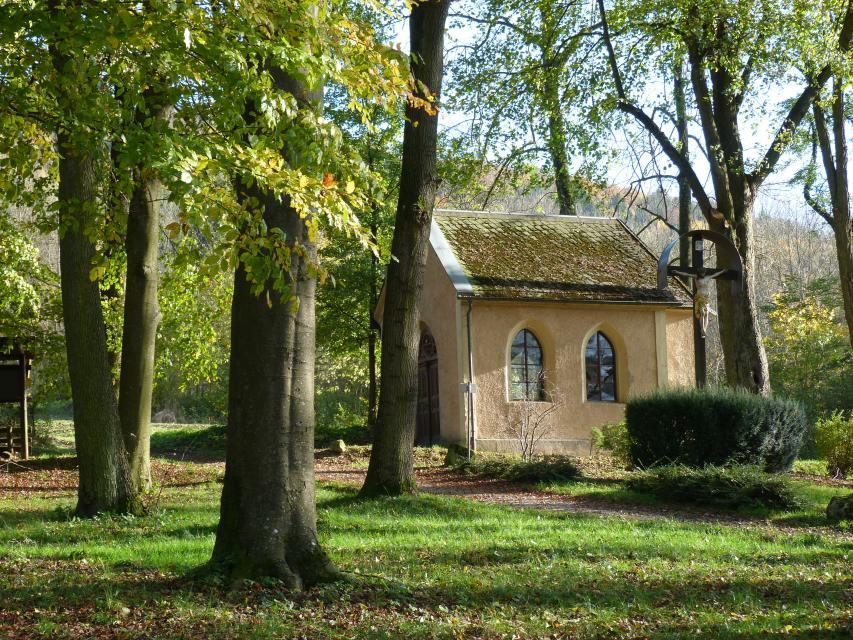 Stadtpark mit Kneippanlage und Erlachkapelle