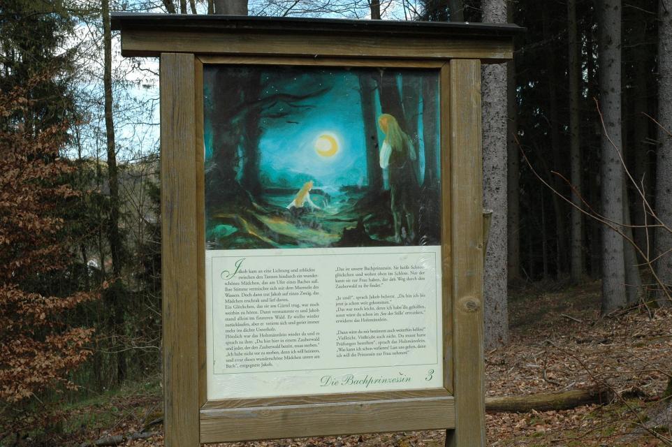 Kindererlebnisweg im Zauberwald