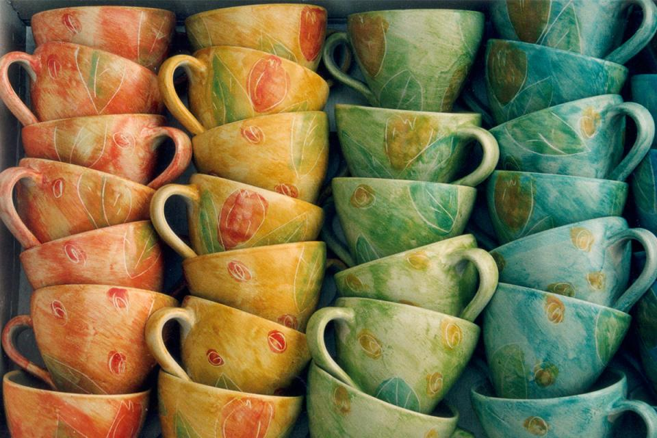 Keramik im Blauen Haus