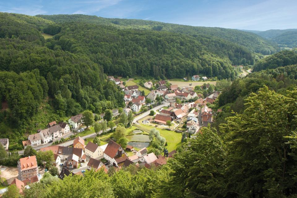 Ausblick im Hirschbachtal
