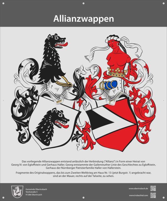 Allianzwappen Haller Egloffstein