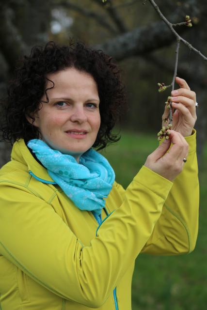 Streuobstpädagogin Christine Berner