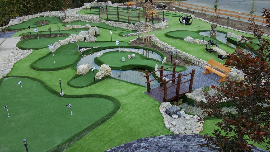 Abenteuergolf - Säger-Golf