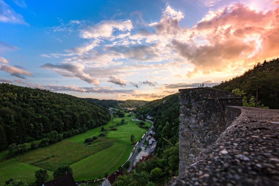 Aussichtspunkt Burgruine Wolfsberg