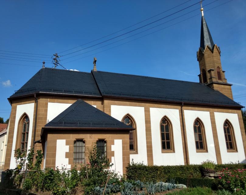 Katholische Pfarrkirche Kreuzerhöhung Merkendorf