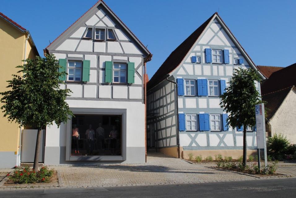 - Geburtshaus von Levi Strauss