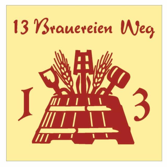 - Logo 13 Brauereien Weg