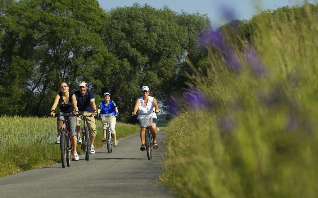 - Radfahrer in der Fränkischen Toskana