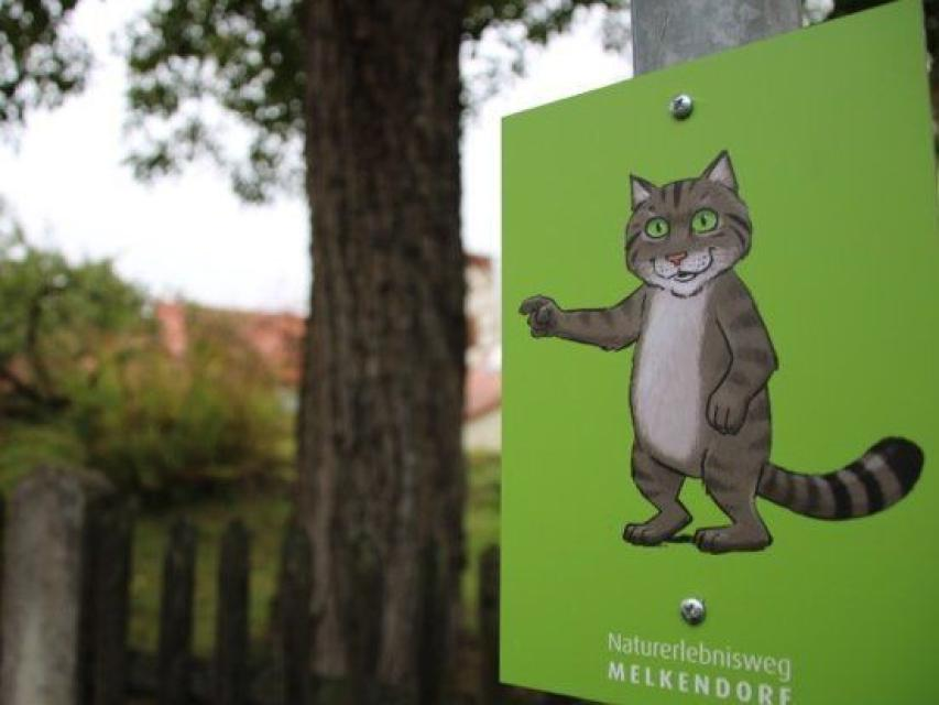 - Naturerlebnisweg Melkendorf