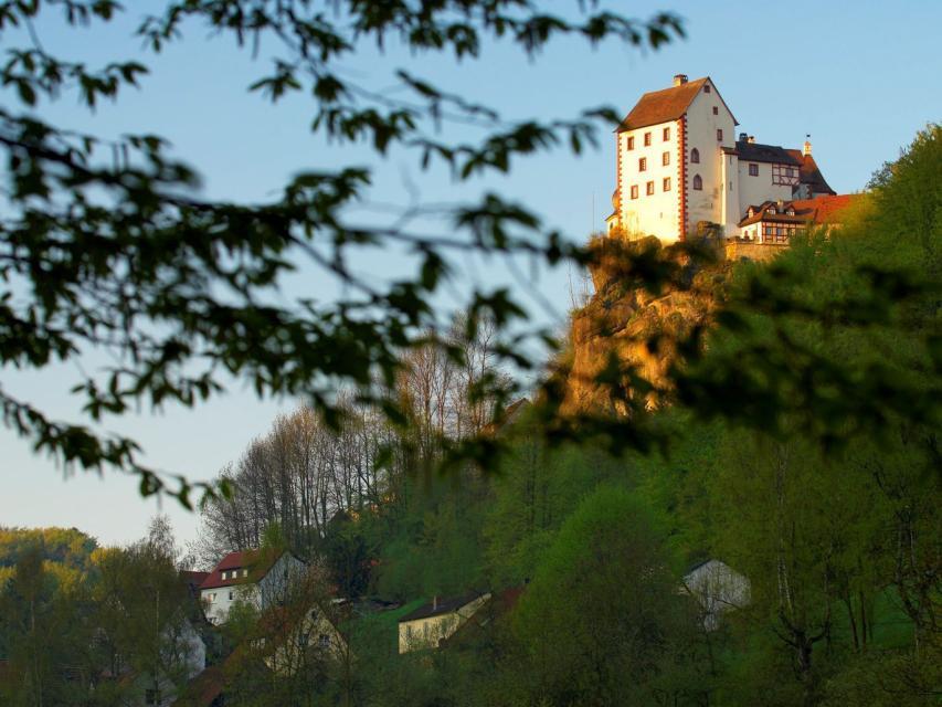 Burgenstraße-Wanderweg (5) - von Pretzfeld nach Egloffstein