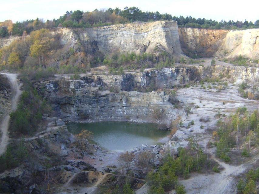 Ludwag und Steinbruch bei Ludwag (Route A1)