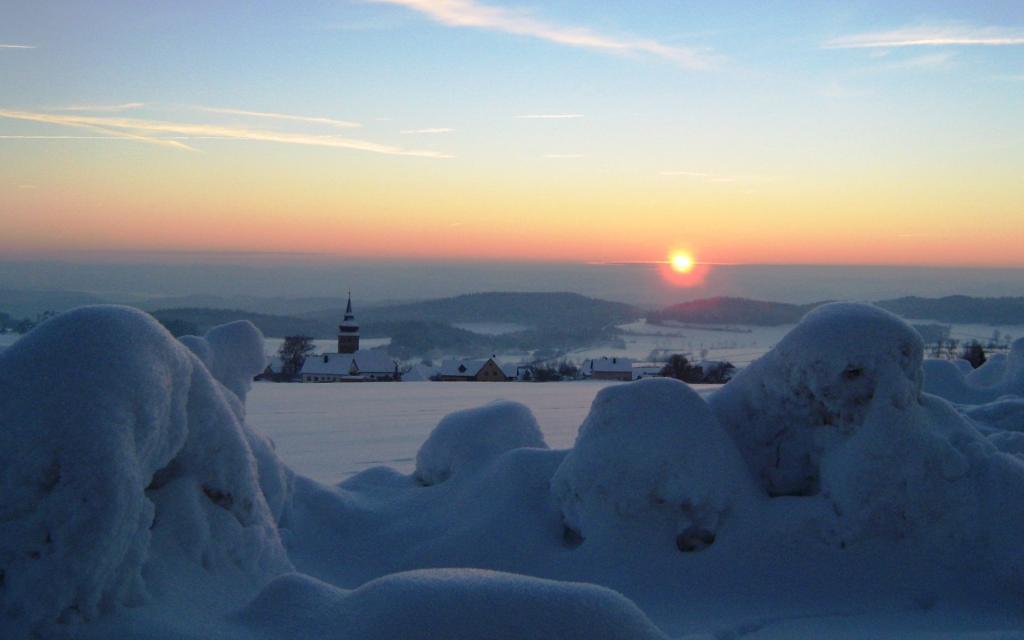 Tourismusbüro Pottenstein - Winter in Hohenmirsberg