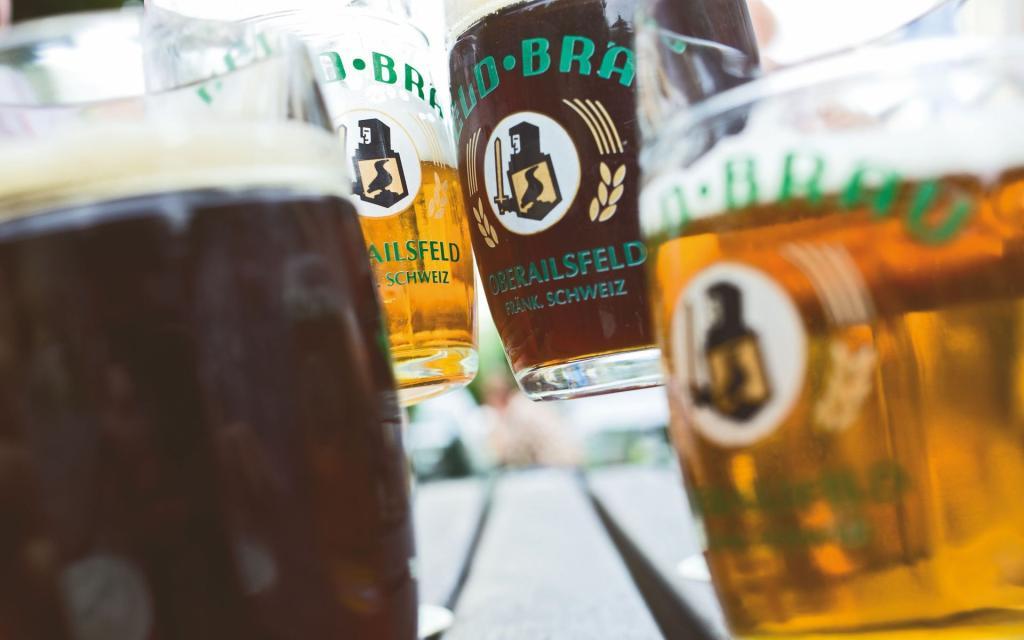 Brauereienweg im Ahorntal