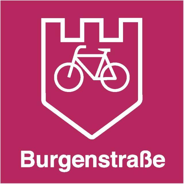 Radweg Burgenstraße