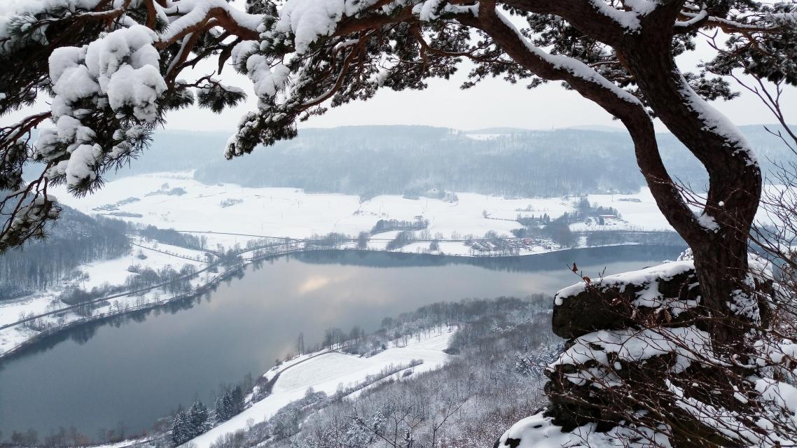 Über die Edelweißhütte zum Happurger Stausee - VGN Winterwanderung