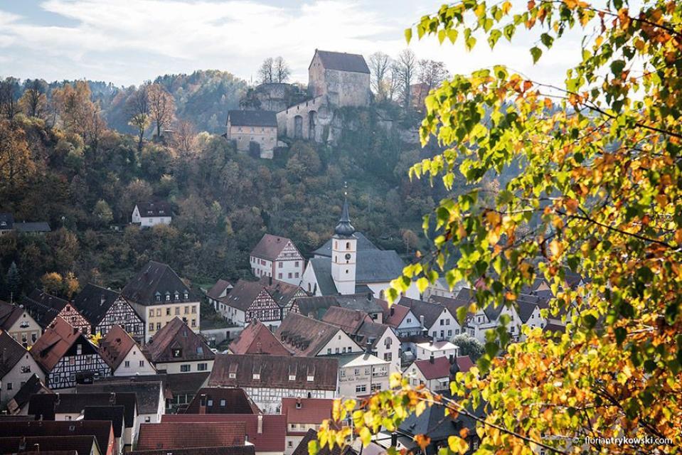 Burgenstraße-Wanderweg durch das Wiesenttal (gesamt)