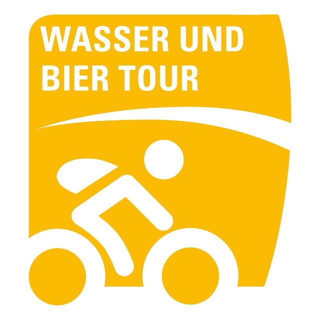 Markierung Wasser und Bier Tour