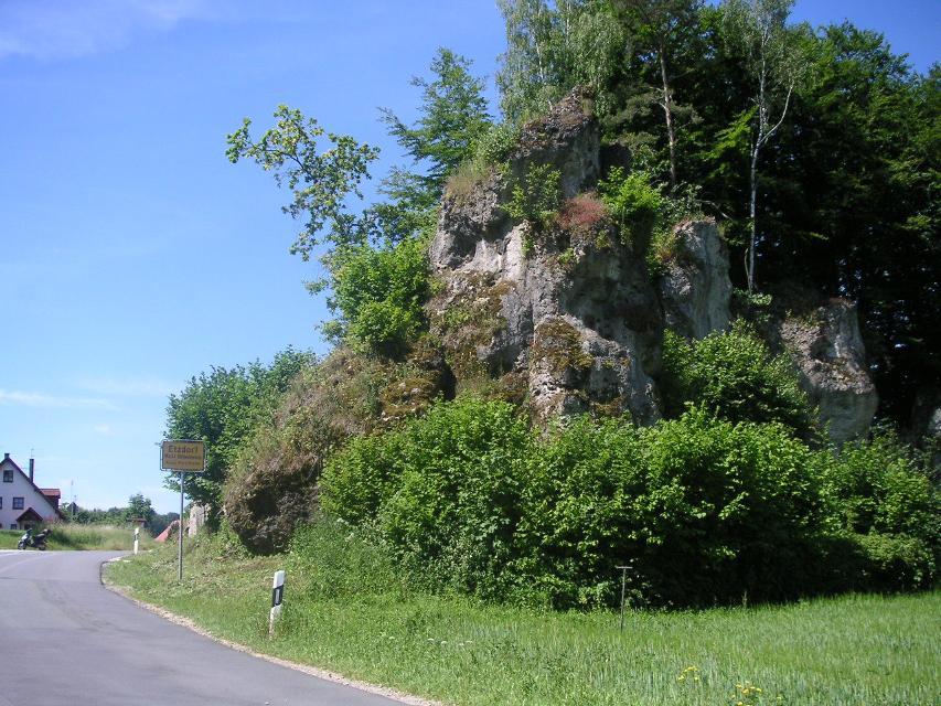 Felsen bei Etzdorf