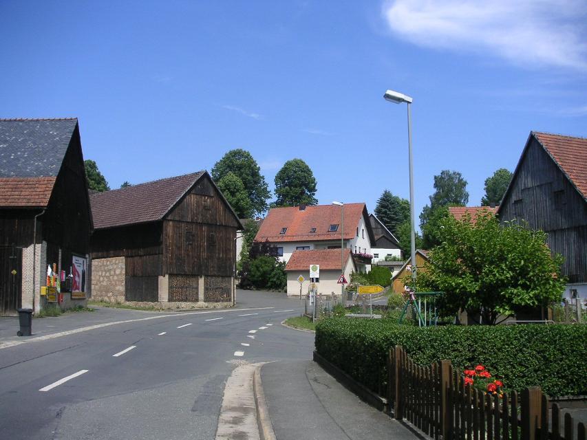 Hauptstraße in Stadelhofen