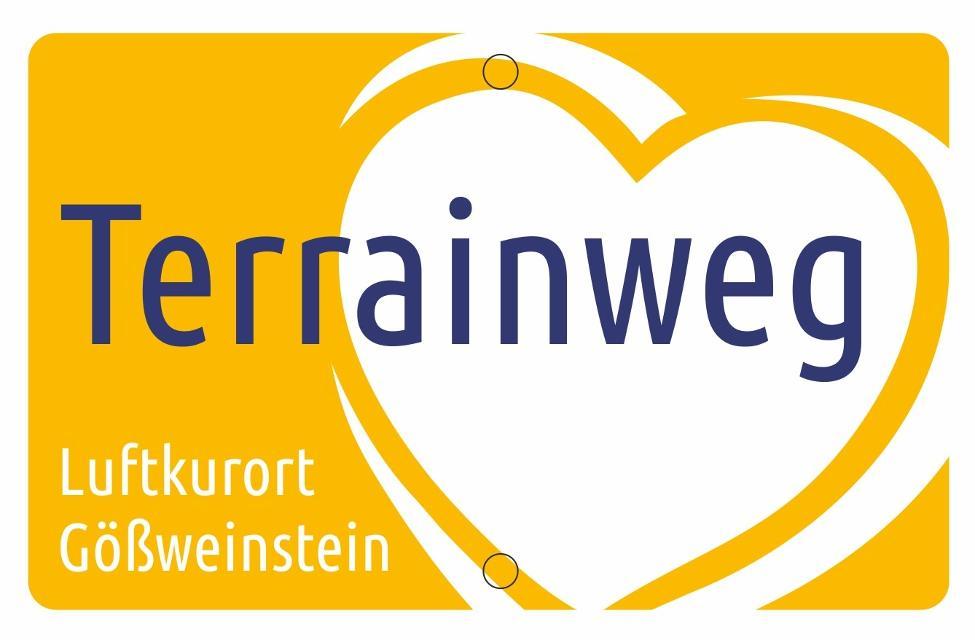 """Markierungszeichen """"Terrainweg Luftkurort Gößweinstein"""""""