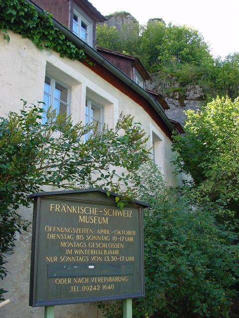 Fränkische-Schweiz-Museum Tüchersfeld