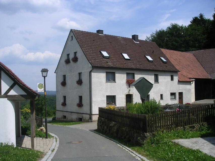 Weg zum Pfaffenstein in Moritz