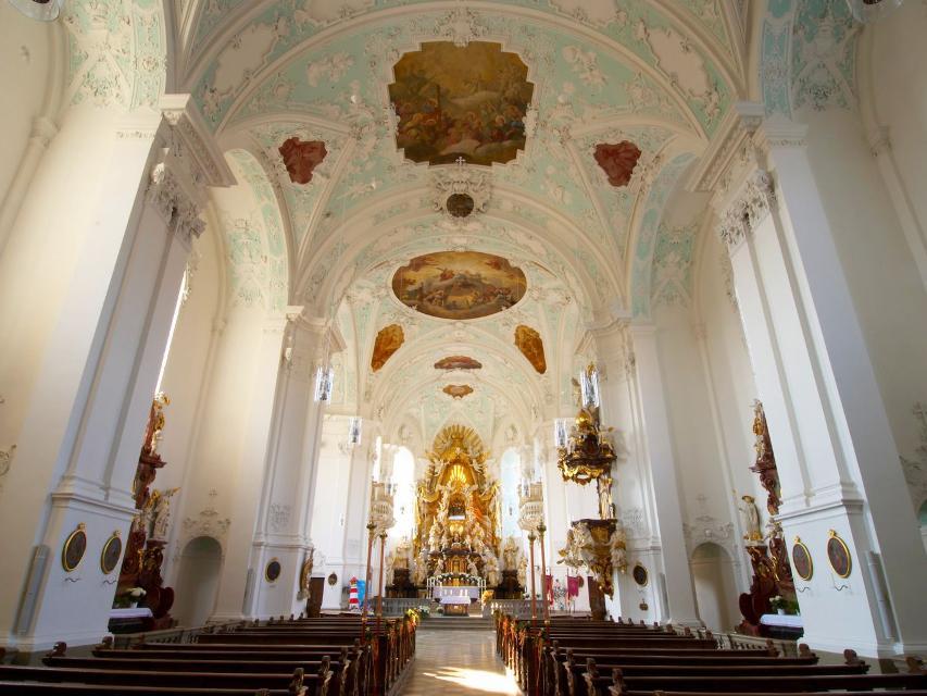 Basilika Gößweinstein Innenansicht