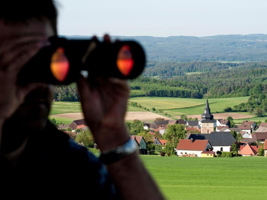 Aussicht von der Hohenmirsberger Platte