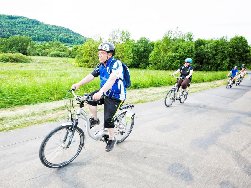 Radfahren in der Fränkischen Schweiz