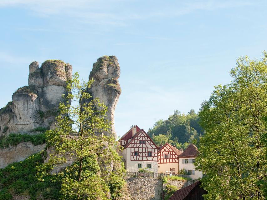 Tüchersfeld mit Fränkische Schweiz Museum