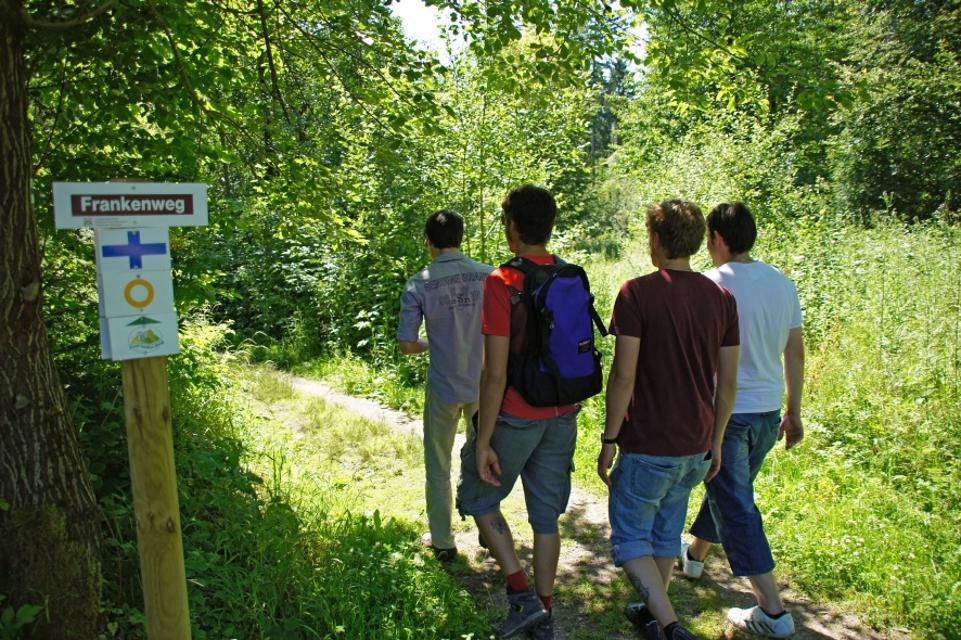 Wandern auf dem Fünf-Seidla-Steig