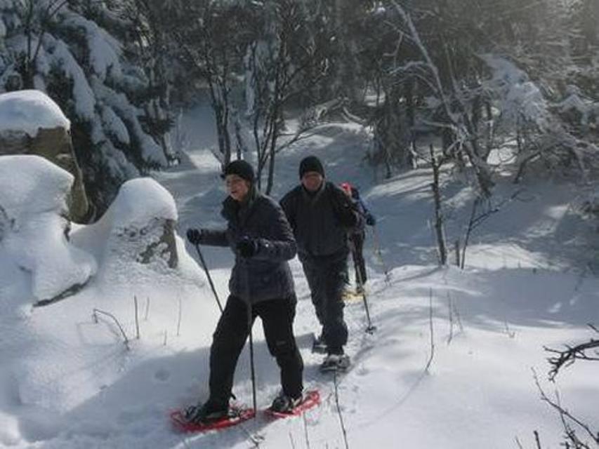 Schneeschuhwandern in und um Gößweinstein