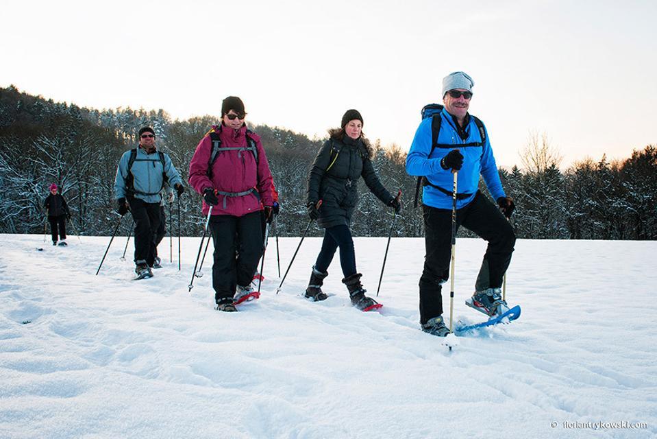 Schneeschuhwandern bei Gößweinstein