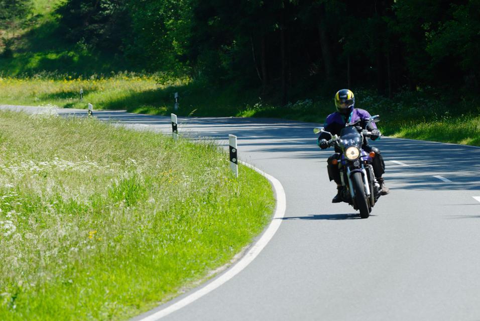 Motorradtour durch die Fränkische Schweiz