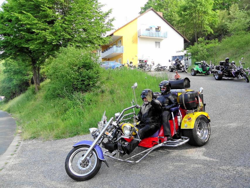 Mit dem Motorrad durch die Fränkische Schweiz
