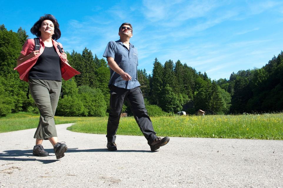 Wandern in der Fraenkischen Schweiz