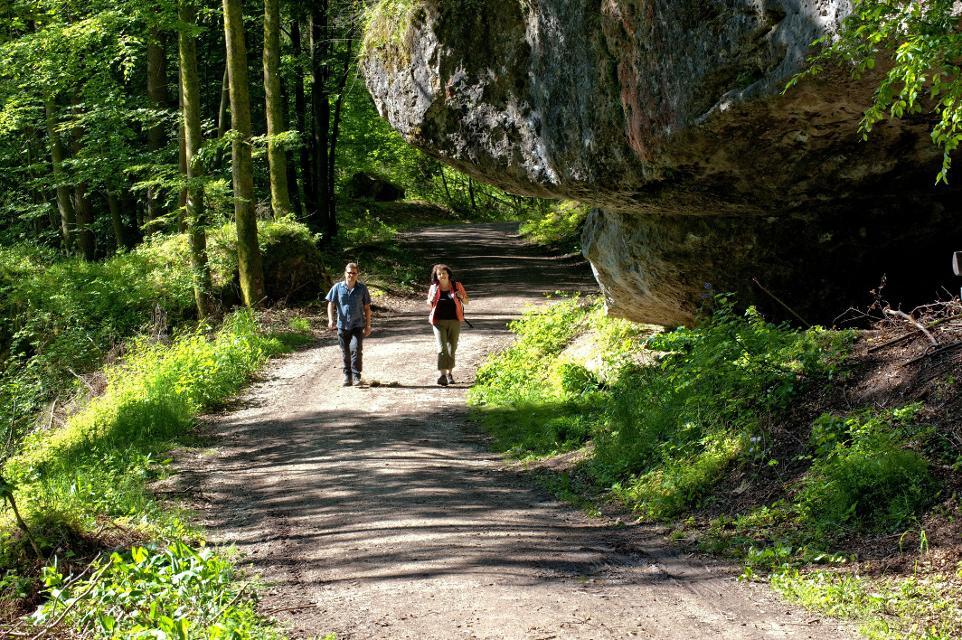 Wandern um Pottenstein
