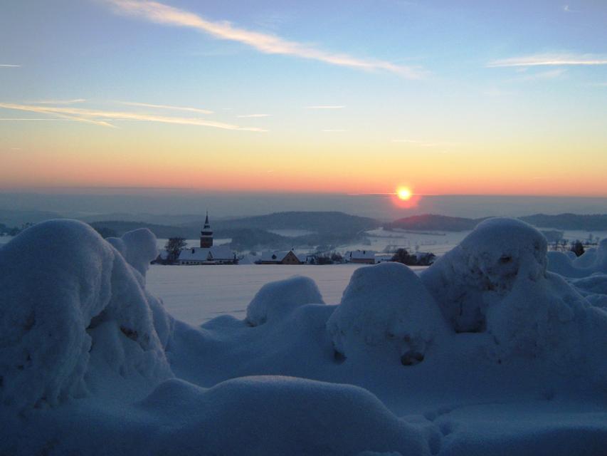 Winter in Hohenmirsberg
