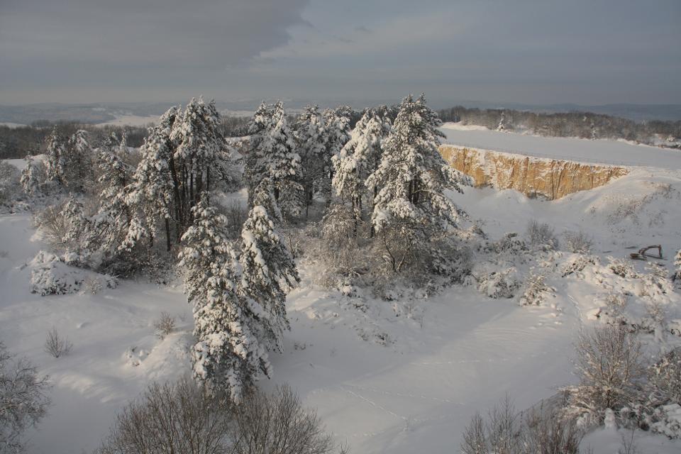 Winter auf der Hohenmirsberger Platte