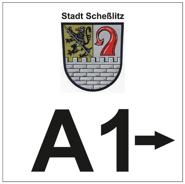 Markierung A1