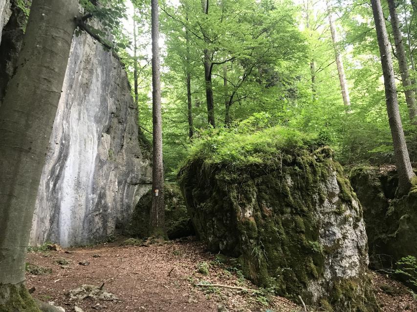 Felsen Höhlenweg