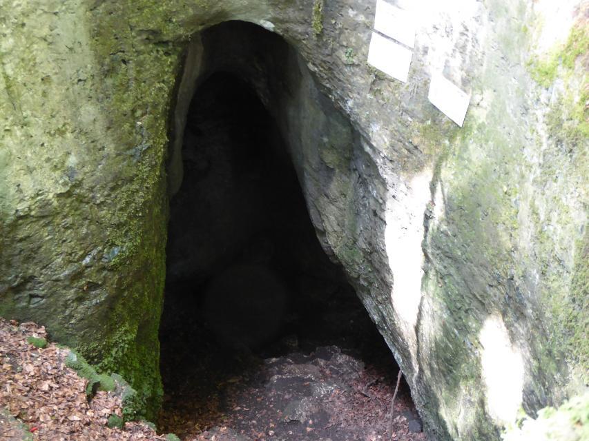 Einstieg Geislochhöhle